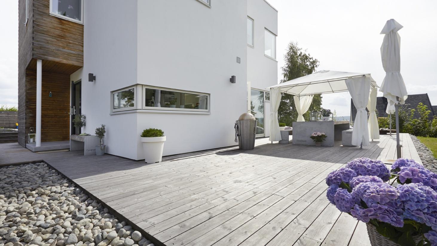Inspirerende Terrasse Ideer