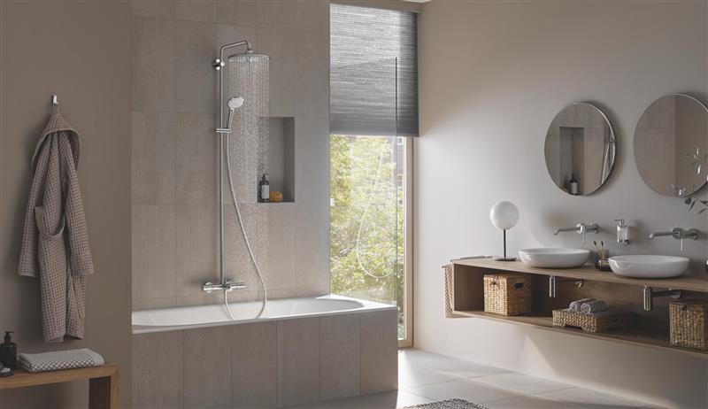 Skal dusjen din kombineres med et badekar?