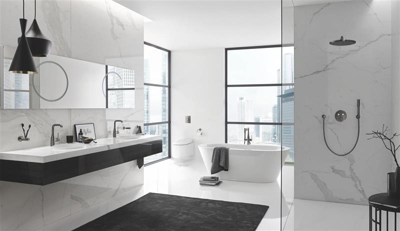 Ønsker du deg en plassbesparende og innebygd dusjløsning?