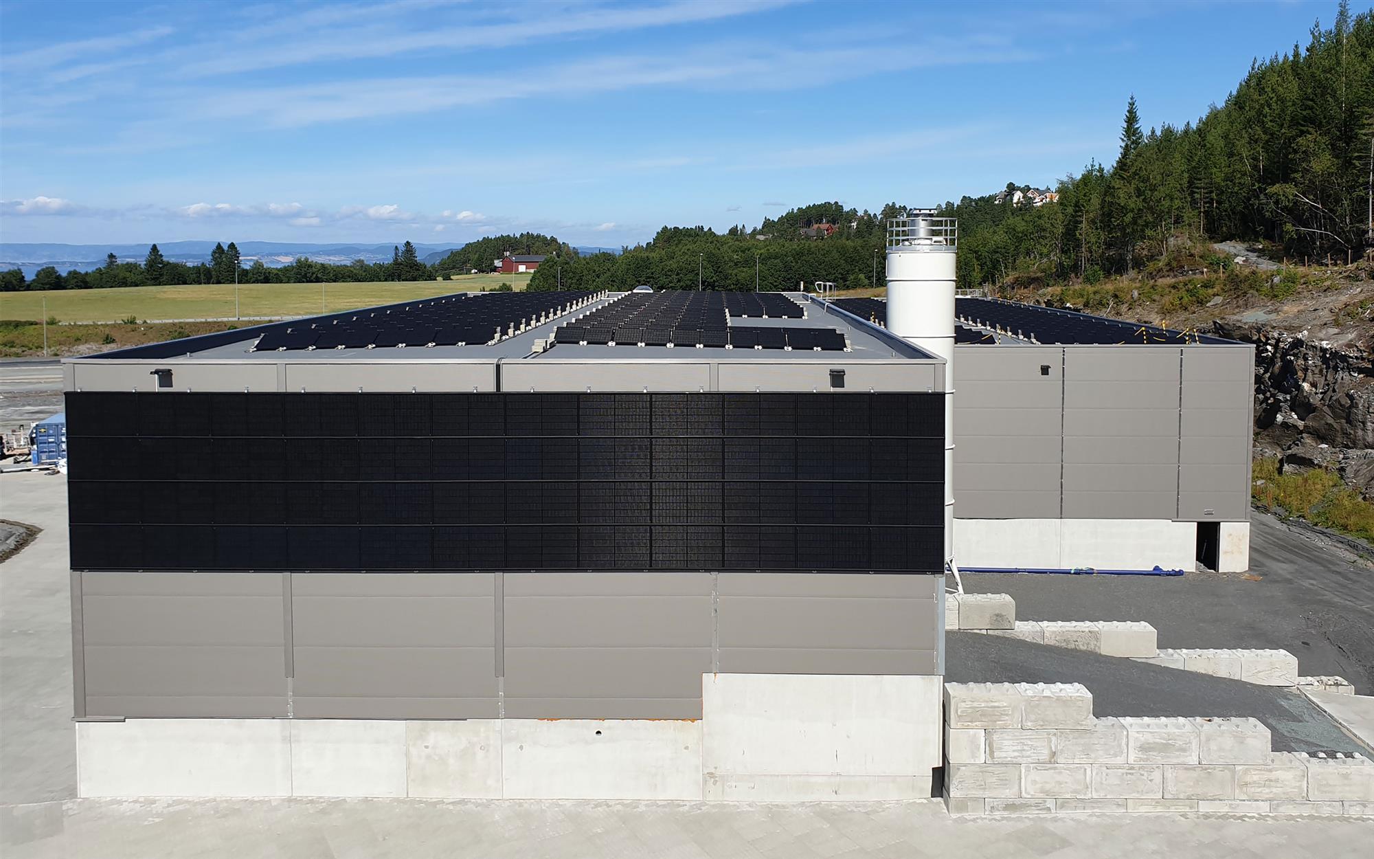 Solceller på Vikaune Industripark
